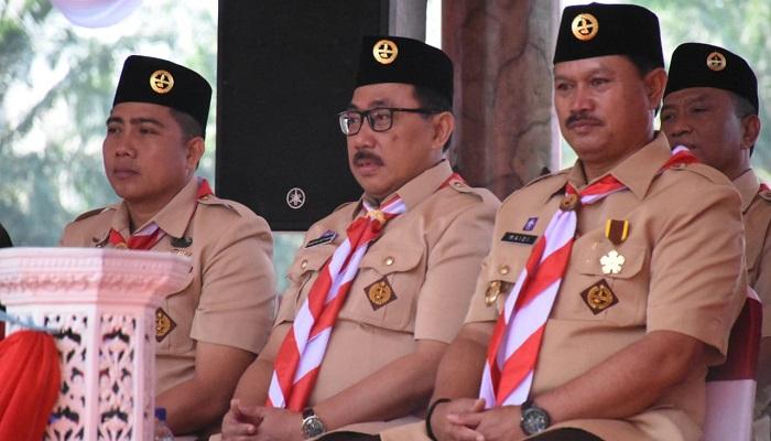 Walikota Madiun, Maidi mengucapkan selamat Hari Pramuka ke-58 tahun yang diperingati pada 14 Agustus setiap tahun. (Foto: Istimewa)